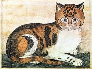Folk Art: Cat by George White