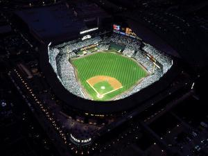 Aerial View of Safeco Field, Seattle, WA by George White Jr.