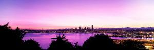 Seattle Skyline at Dawn by George White Jr.