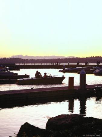 Sunset on Marina, Kirkland, WA