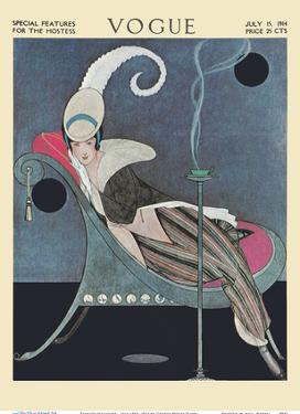 Fashion Magazine - July 15th, 1914 - Special Features for the Hostess by George Wolfe Plank