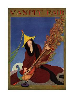 Vanity Fair Cover - August 1915 by George Wolfe Plank