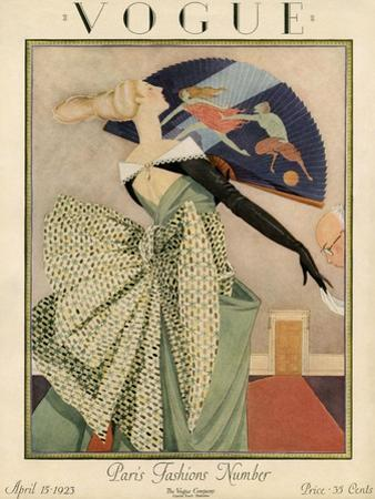 Vogue Cover - April 1923