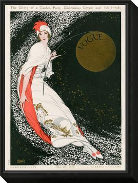 Vogue Cover - August 1912 by George Wolfe Plank