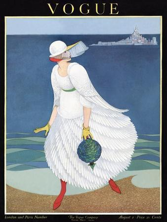 Vogue Cover - August 1916