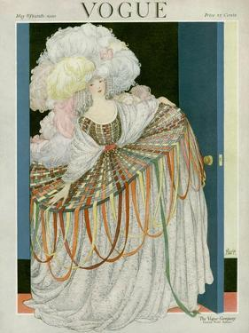 Vogue Cover - May 1920 by George Wolfe Plank