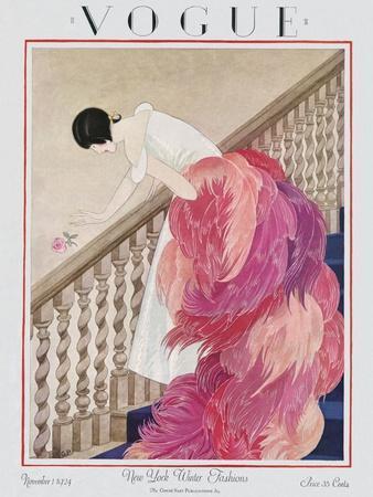Vogue Cover - November 1924