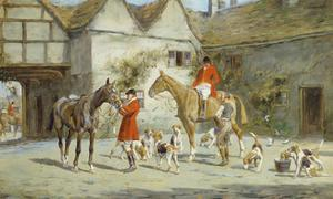 Before the Hunt by George Wright