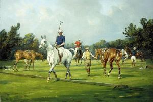 Before the Start of the Match by George Wright
