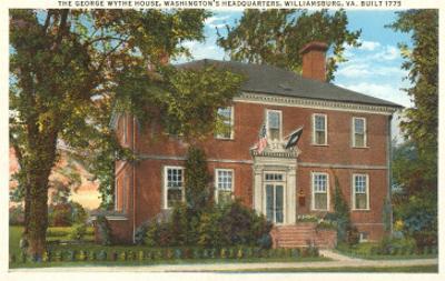 George Wythe House, Williamsburg, Virginia