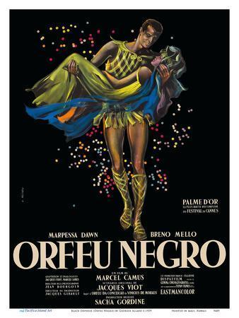 Black Orpheus (Orfeu Negro) - Directed by Marcel Camus