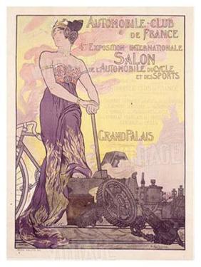 Auto Club de France by Georges Antoine Rochegrosse