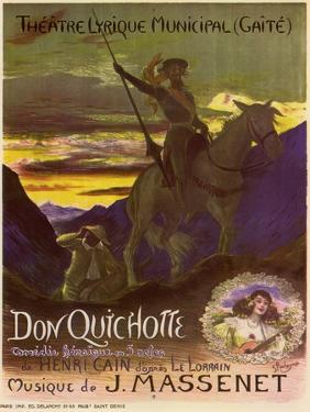 Don Quixote, c.1910 by Georges Antoine Rochegrosse
