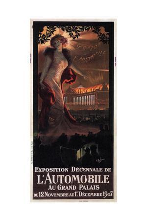 Exposition Décennale De L'Automobile Au Grand Palais, 1907