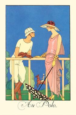 Au Polo by Georges Barbier