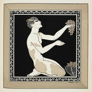 Designs On the Dances Of Vaslav Nijinsky by Georges Barbier