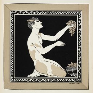 Designs On the Dances Of Vaslav Nijinsky by Georges Barbier