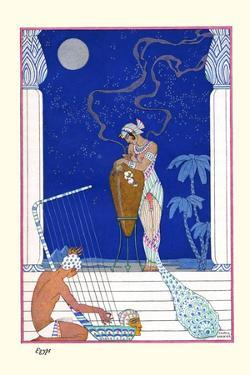 Egypt by Georges Barbier