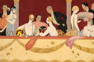 Eventails, 1924 by Georges Barbier