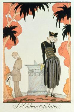 Falbalas Et Fanfreluches, Almanach Des Modes, Fashions for 1921 (Pochoir Print) by Georges Barbier