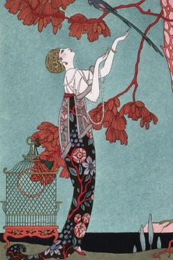 Fashion Illustration, 1914 by Georges Barbier