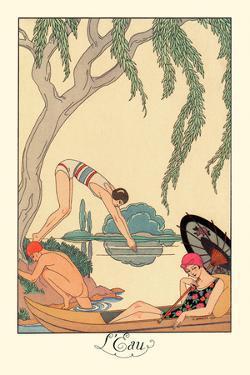 L'Eau by Georges Barbier