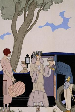 L'Ensie by Georges Barbier