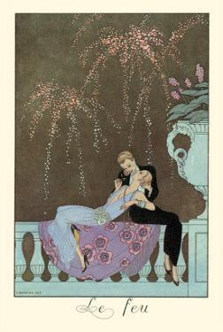 Le Feu by Georges Barbier