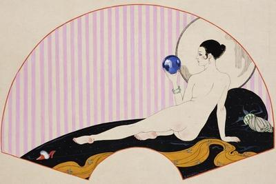 Odalisque with a Crystal Ball, Dated 1920