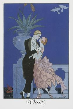Oui by Georges Barbier