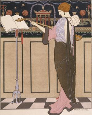 Paquin Evening Coat by Georges Barbier