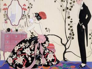 The Backless Dress by Georges Barbier