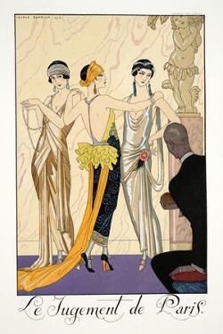 The Judgement of Paris by Georges Barbier