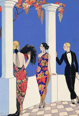 The Taste of Shawls, 1922 by Georges Barbier