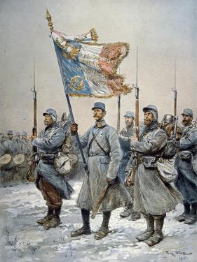 Heroes of the Marne, 1915 by Georges Bertin Scott