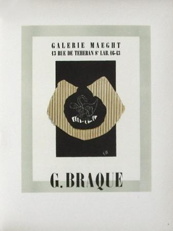 AF 1946 - Galerie Maeght by Georges Braque