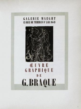 AF 1947 - Galerie Maeght by Georges Braque