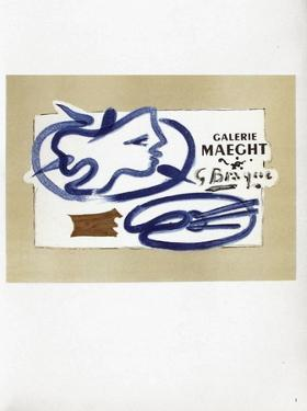 AF 1950 - Galerie Maeght by Georges Braque
