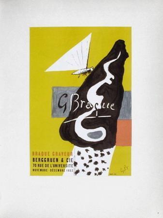 AF 1953 - Galerie Berggruen by Georges Braque