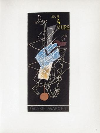 AF 1956 - Galerie Maeght by Georges Braque