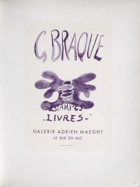 AF 1958 - Adrien Maeght by Georges Braque