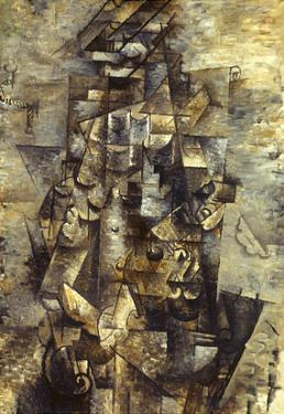 Braque: Man with a Guitar by Georges Braque