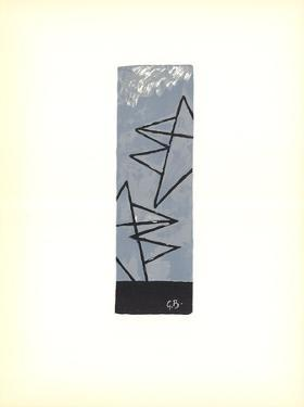 Ciel Gris by Georges Braque