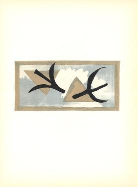 En Vol by Georges Braque