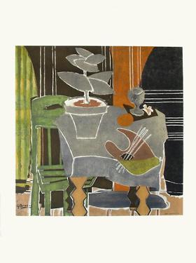 Expo 61 - Musée Galliéra (avant la lettre) by Georges Braque