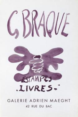 Expo Estampes Livres by Georges Braque