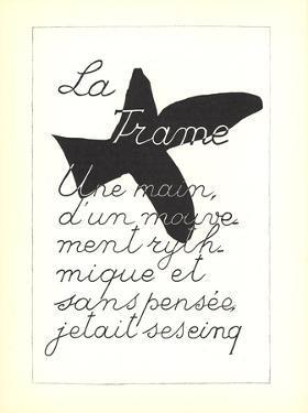La Liberte des Mers by Georges Braque