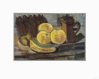 Still Life with Banana by Georges Braque