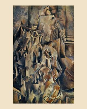 Violon and Jug by Georges Braque