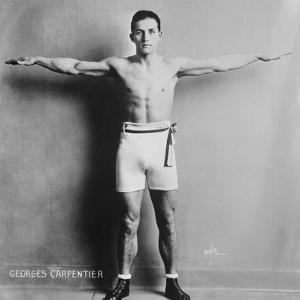 Georges Carpentier, French Boxer, Was known for His Speed, Boxing Skills and His Hard Punch